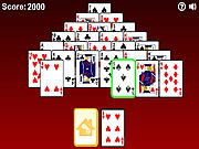 Gioco Pyramid Solitaire Online